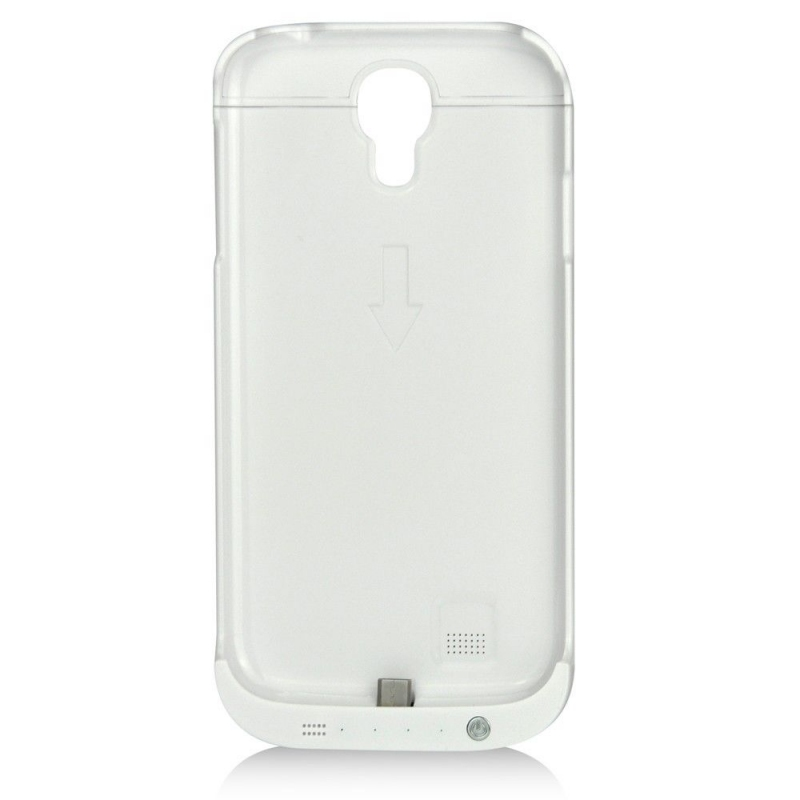 Кейс аккумулятор Samsung Galaxy S4 усиленный White