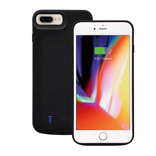 Чехол зарядка для iPhone  6 Plus/ 7 Plus /8 Plus Prostrum black - 8000 mah