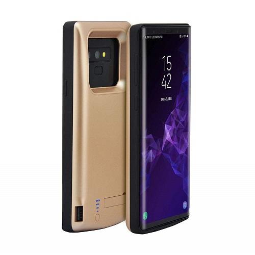 Чехол аккумулятор для Samsung Galaxy Note 9 5000 mah Prostrum Gold