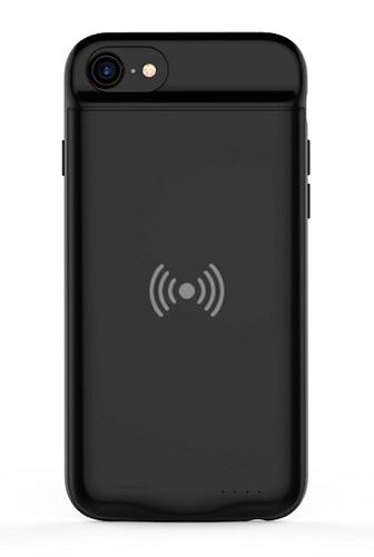 Чехол аккумулятор для iPhone 6/6S/7/8 с беспроводной зарядкой Qi Wireless ProStrum Black