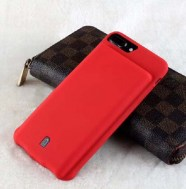 Чехол зарядка для iPhone 8 Plus battery Case - 7000 mah red
