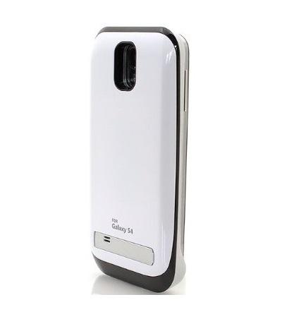 Чехол аккумулятор для Samsung Galaxy S4 white-shining