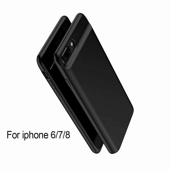 Чехол-аккумулятор для iPhone 7/6/6s/8 5000 mAh Prostrum black