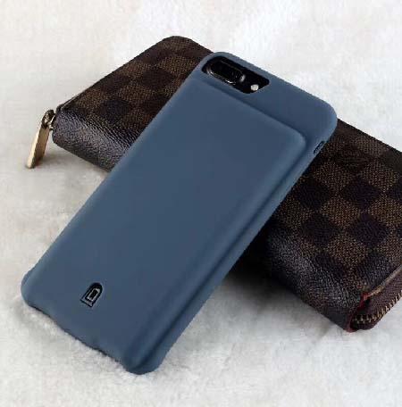 Чехол зарядка для iPhone 8 Plus battery Case - 7000 mah blue