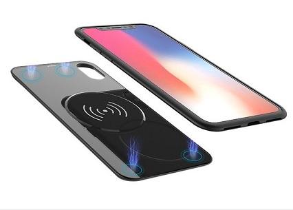 Чехол – батарея с беспроводной зарядкой для iPhone X 2 в 1