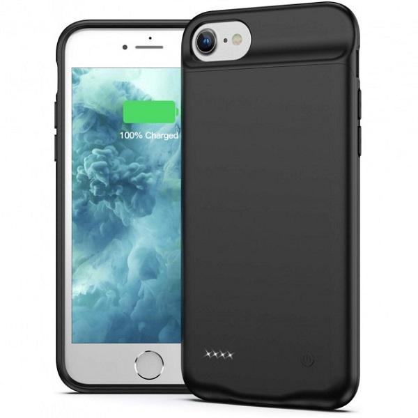 Чехол аккумулятор для iPhone 7/8/6/6S 3000 mAh ProStrum black