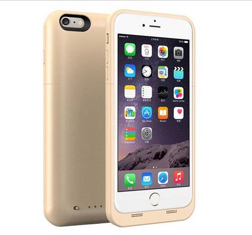 Чехол зарядное для iPhone 7 Charge Case 4.7 -4500 mah gold