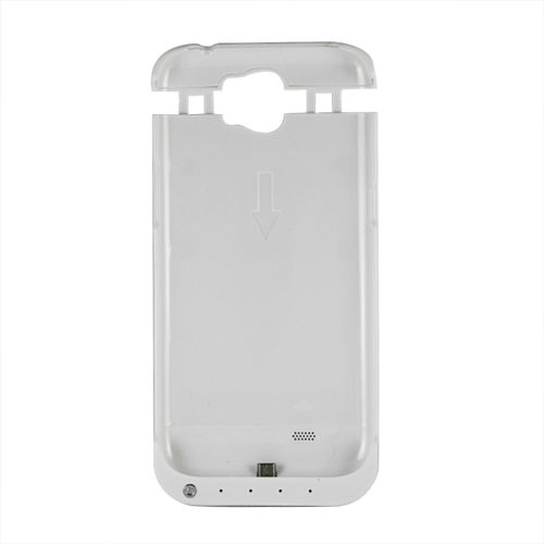 Чехол аккумулятор для Samsung Galaxy Note 2 white