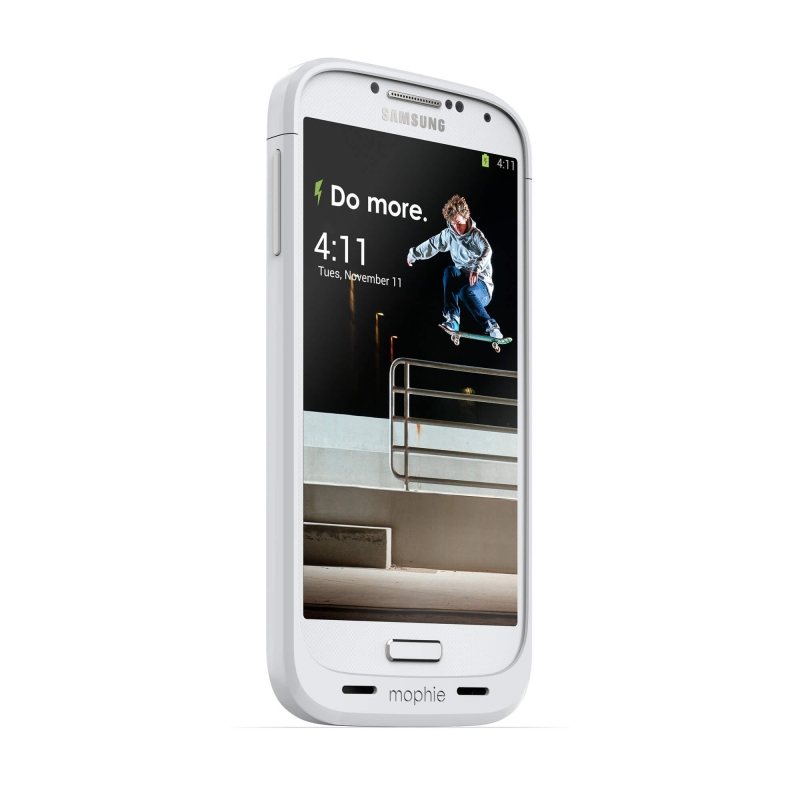 Mophie Juice Pack Samsung Galaxy S4 white