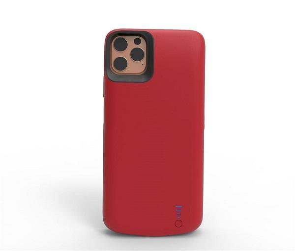 Чехол Smart battery case для iPhone 11 Pro Max 6000 mAh Prostrum red