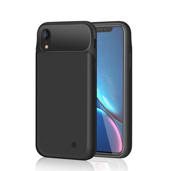 Чехол аккумулятор для iPhone XR 4000 mAh ProStrum black