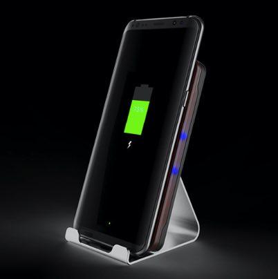 Беспроводное зарядное Fast Wireless Charger для iPhone X, iPhone 8/8 Plus быстрая зарядка