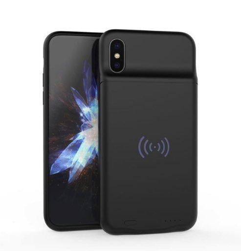 Чехол зарядка для iPhone Х с беспроводной зарядкой QI Wireless