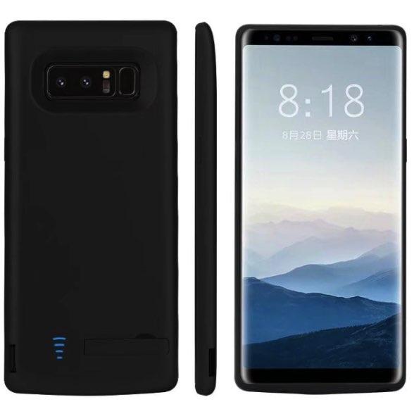 Чехол аккумулятор для Samsung Galaxy Note 8 6500 mah Prostrum Black