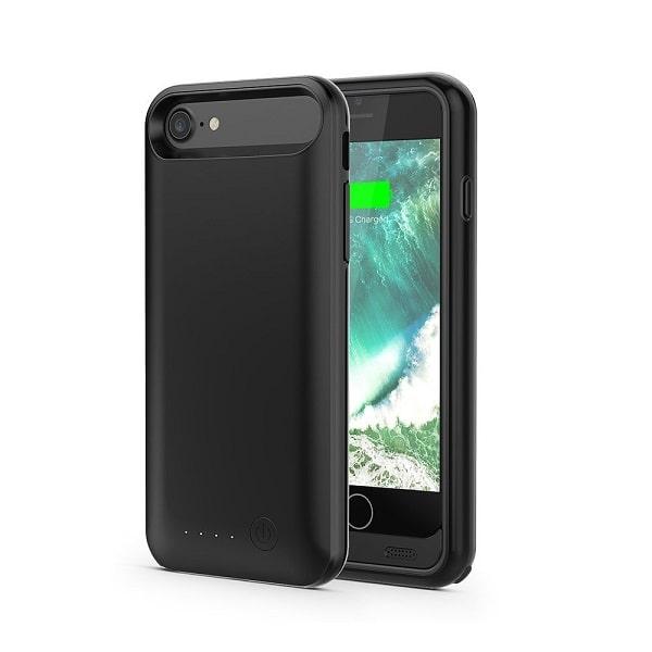 Чехол аккумулятор для iPhone 8 iFans space black 3100 mAh