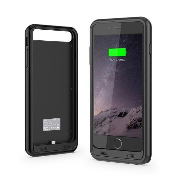 Чехол аккумулятор для iPhone 7 Plus iFans black 4000 mAh