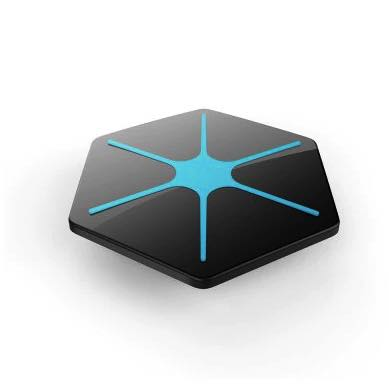 Беспроводная зарядка QI для iPhone X, iPhone 8 Glitz-1 черная