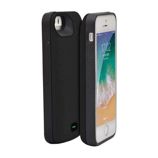 Чехол аккумулятор для iPhone 5/5s/SE 4000 mAh Prostrum black