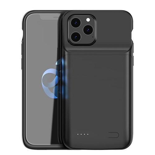Чехол аккумулятор для iPhone 12 4800 mAh ProStrum black