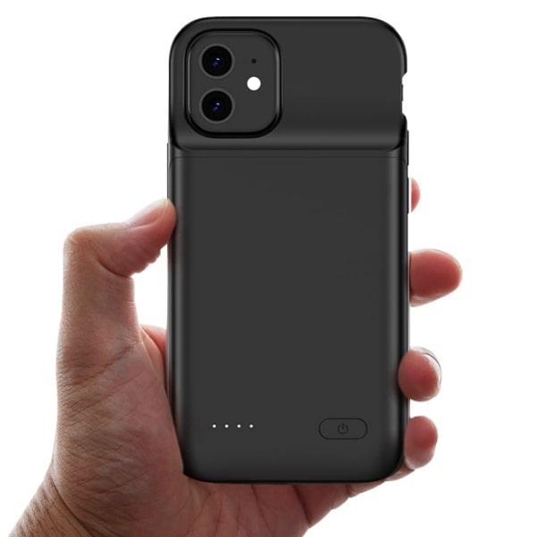 Чехол зарядка для iPhone 12 Mini 6000 mAh ProStrum black