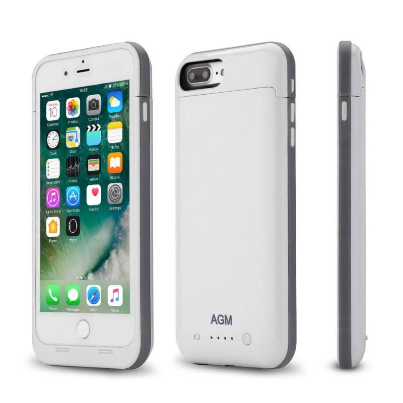 Аккумулятор чехол для iPhone 7 Plus Charge Case 5.5 -7000 mah white