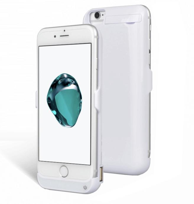 Чехол батарея для iPhone 7 5500mAh - 4.7 ProStrum white