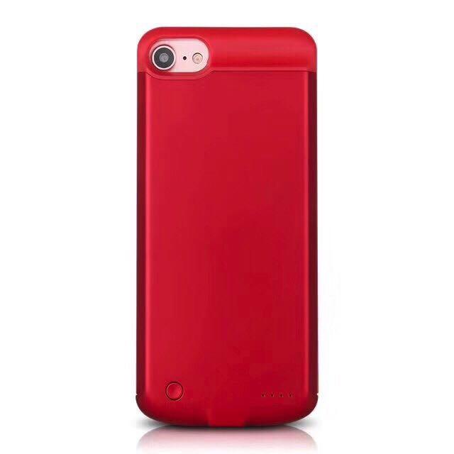 Чехол батарея для iPhone 7 Red 3800 mah