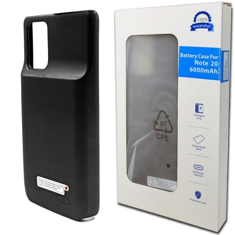 Чехол батарея для Note 20 6000 mAh