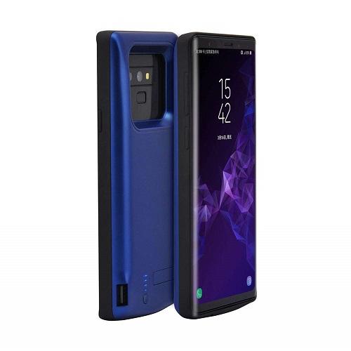 Чехол аккумулятор для Samsung Galaxy Note 9 5000 mah Prostrum Blue