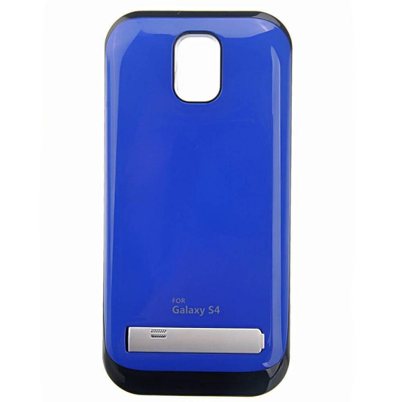 Чехол аккумулятор для Samsung Galaxy S4. blue