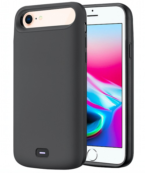 Чехол батарея для iPhone 6/7/8 - 5500mah Prostrum Grey
