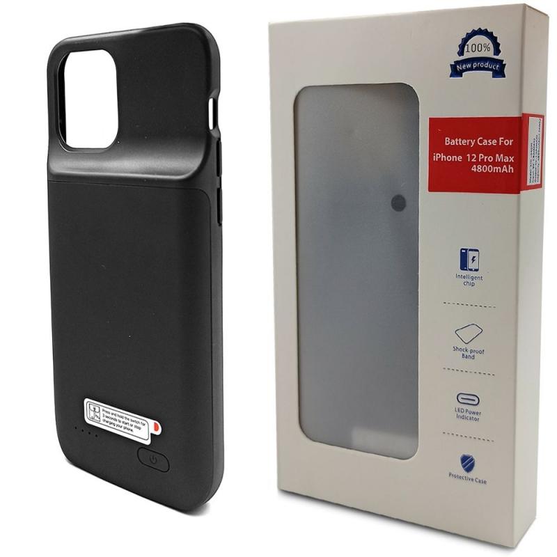 Чехол аккумулятор для iPhone 12 Pro Max 4800 mAh