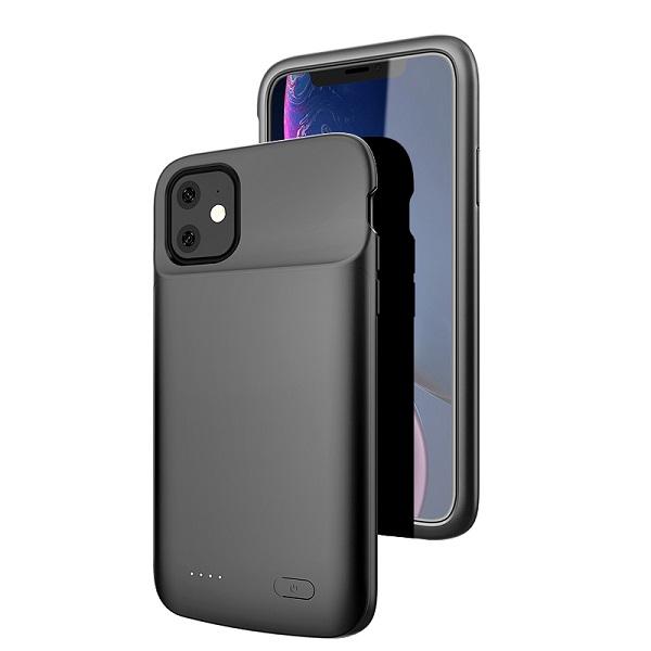 Чехол аккумулятор для iPhone 11 4500 mAh ProStrum black