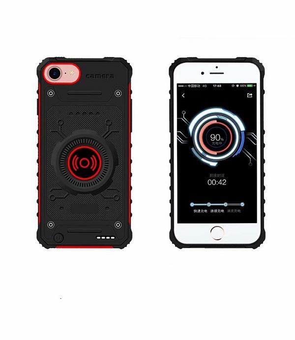 Чехол аккумулятор ProStrum для iPhone8/6/6s/7 с функцией беспроводной зарядки QI