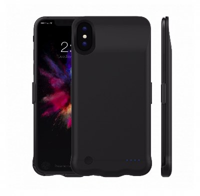 Чехол зарядка для iPhone X 5200 mah Black - iPhone 10 Power Charge