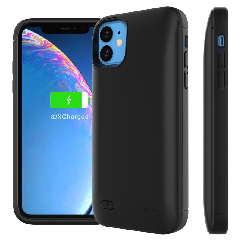 Чехол Smart battery case 6000 mah для iPhone 11 black Prostrum