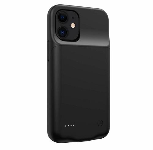 Чехол зарядка для iPhone 12 7000 mAh ProStrum black