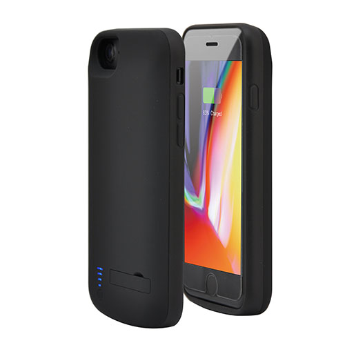 Чехол аккумулятор для iPhone 7/8/6 - 5500mah Prostrum Black