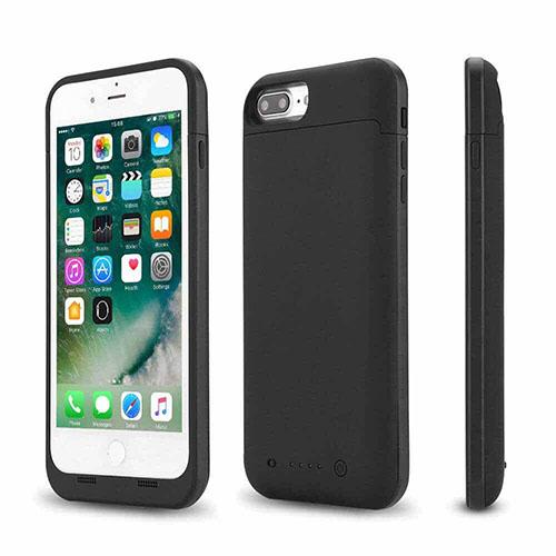 Аккумулятор чехол для iPhone 8 Plus Charge Case 5.5 -7000 mah black