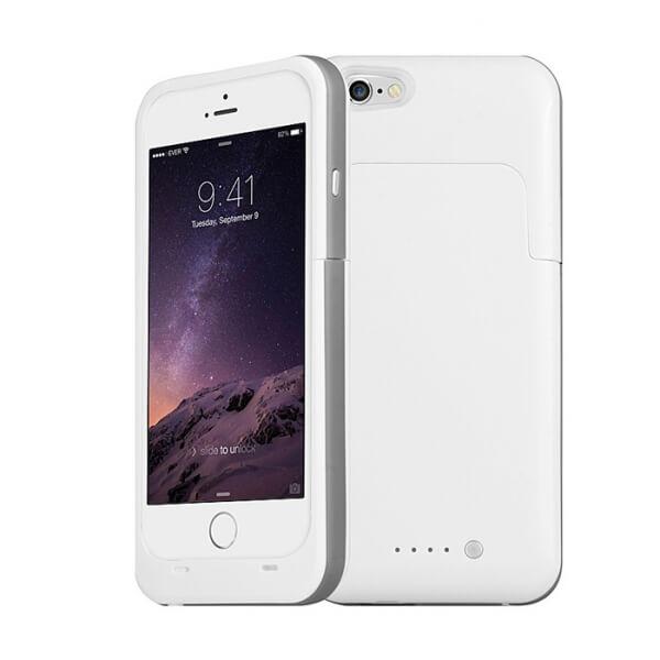 Чехол зарядка для iPhone 6/ 6S плюс (5.5) Charge Case 6800mah white
