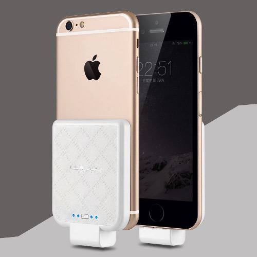 Power Bank для iPhone 7, 7 Plus /5,5S/ 6, 6S, 6 Plus WUW - 2200 mah white