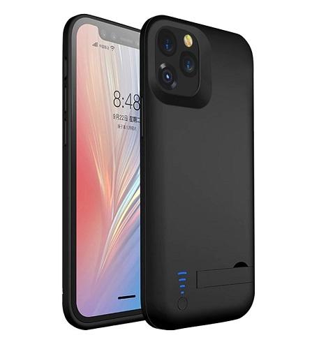 Чехол зарядка для iPhone 12 5000 mAh ProStrum black