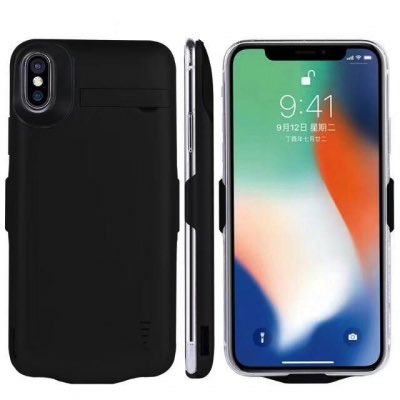 Чехол аккумулятор iPhone X   iPhone 10 -5000 mah black