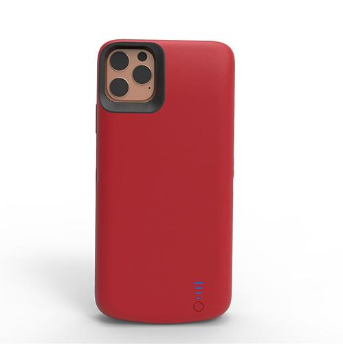 Чехол зарядка для iPhone 11 6000mAh красный