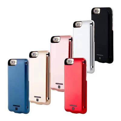 Чехол Power Bank для iPhone 7 Plus с дополнительной зарядкой