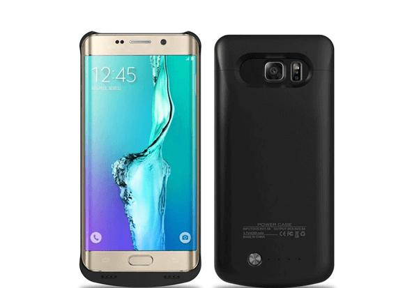 Чехол зарядка для Samsung Galaxy S6 edge+ 5200 mah
