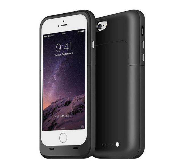 Чехол зарядка для iPhone 6/6S Charge Case 4.7 -3800 mah черный