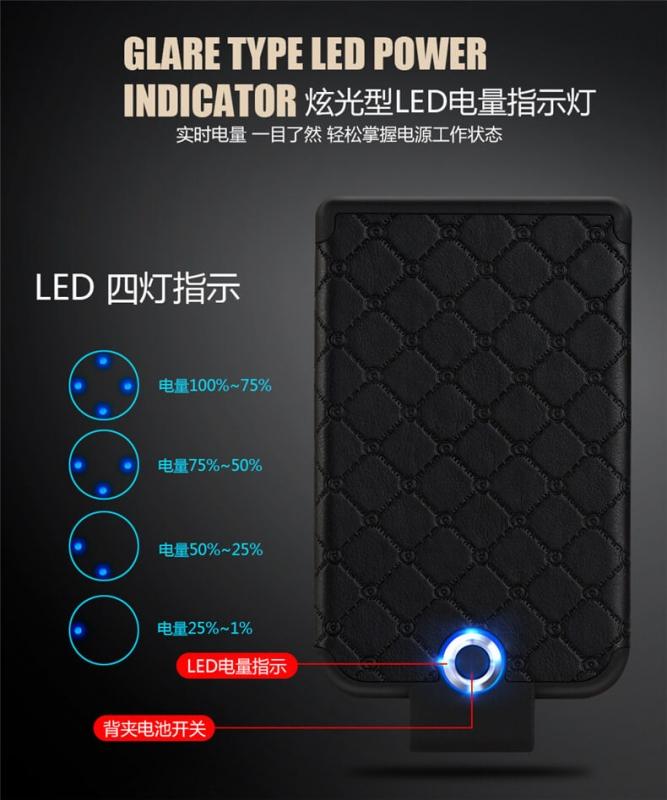 Power bank для Samsung Galaxy WUW 3600 mah