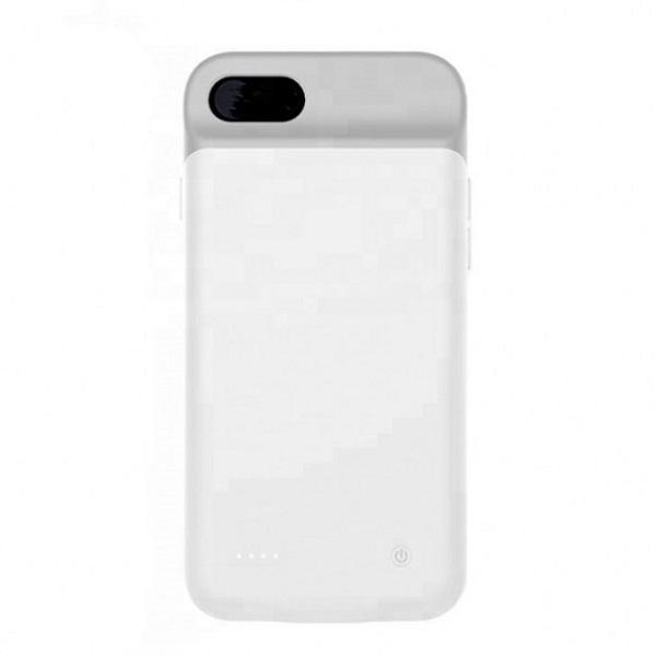 Чехол аккумулятор для iPhone 7+/6+/6s+/8+ 4000 mAh ProStrum white