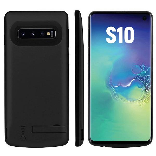 Чехол батарея для Samsung S10 6000 mAh ProStrum black